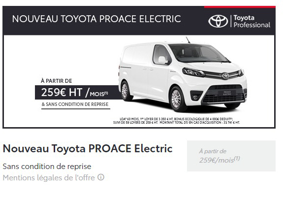 Proace electric