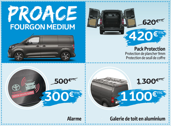 Proace fourgon medium